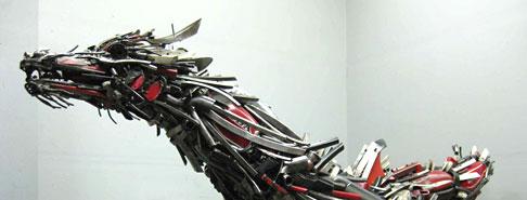 Asombrosas esculturas de metal :D!